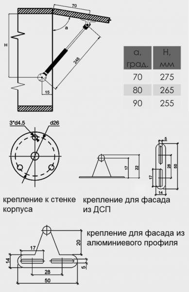 Установка газлифтов своими руками 31